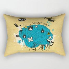 MKULTRA Rectangular Pillow