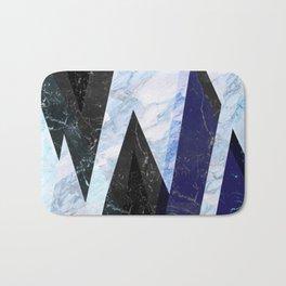 Marble stone ( frozen ) Bath Mat