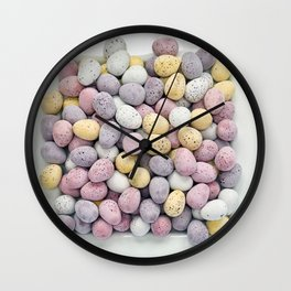Easter Plate V Wall Clock