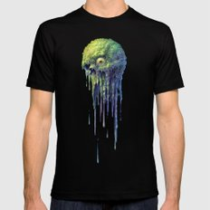 Slime Ball Black LARGE Mens Fitted Tee