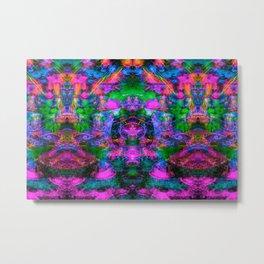 Ultraviolet Totem III Metal Print