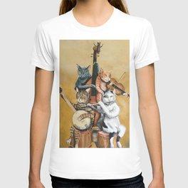 Cat Quartet T-shirt