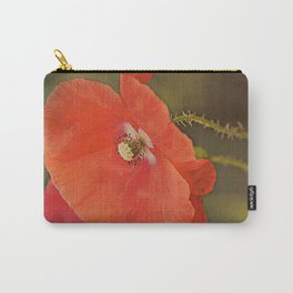 Poppies vintage 6 Carry-All Pouch