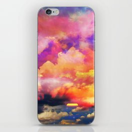 lollipop sunset iPhone Skin