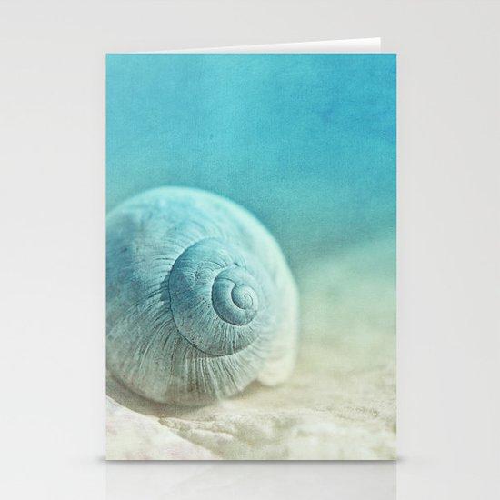 APRICOTEE   Blue version Stationery Cards