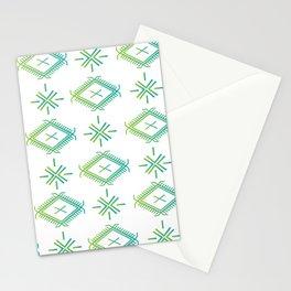 UrbanNesian Green & Turquoise Malu Stationery Cards