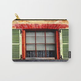 Window Shutters Carry-All Pouch