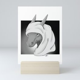 Cloaked in Shadows Mini Art Print