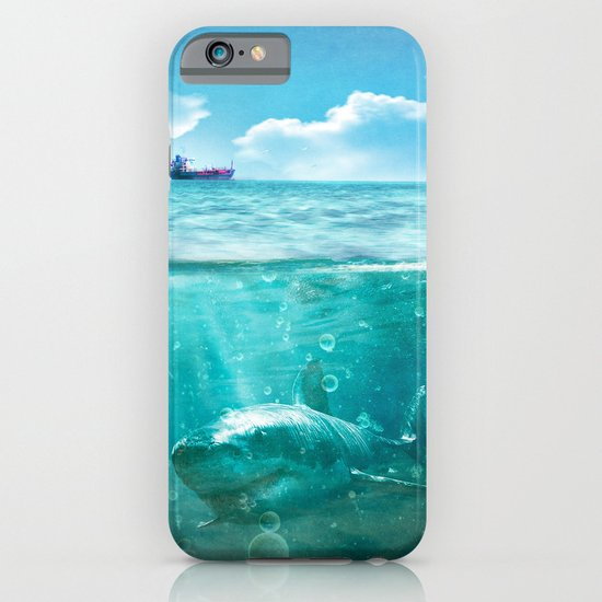 Blue iPhone & iPod Case
