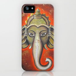 Ode to Ganesha iPhone Case