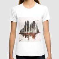 nyc T-shirts featuring NYC by Rosalia Mendoza