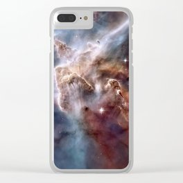 Carina Nebula Clear iPhone Case