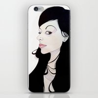 nouveau iPhone & iPod Skins featuring NOUVEAU by michael newton