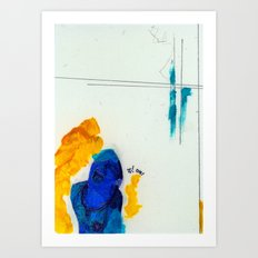 Study for Figure at the Base of a Crucifixion #1 Art Print