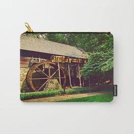 Gristmill - Charlottesville, Virginia Carry-All Pouch