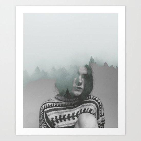 Where is my mind? no.5 Art Print