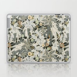 floral embroidery Laptop & iPad Skin