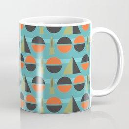 Modern Century Geometric Dessert Cactus 4 Coffee Mug