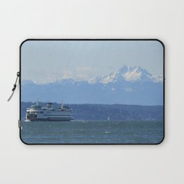 """""""Tacoma"""" Ferry and the Brothers Laptop Sleeve"""