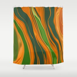 Shiva Abstract6 Shower Curtain