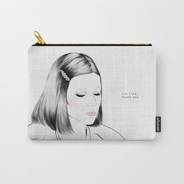 Gwyneth Paltrow (as Margot Tenenbaum) - Melancholia Serie Carry-All Pouch