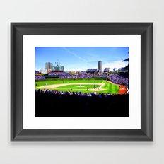 Wrigley Field Framed Art Print