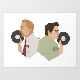 Shaun of the Disco Art Print