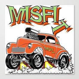 MISFIT rev 1 Canvas Print