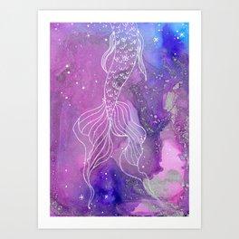 Mystic Waters Art Print