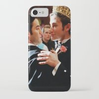 klaine iPhone & iPod Cases featuring Klaine by Warbler