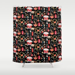 Love a firefighter Shower Curtain