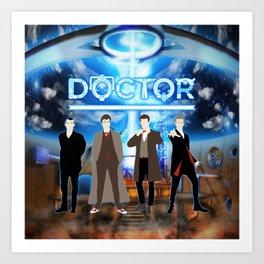 The Doctor Shine Art Print