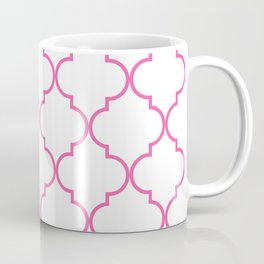 Quatrefoil - Bubblegum Coffee Mug