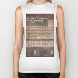 Tableau Periodiques Periodic Table Of The Elements Vintage Chart Science Biker Tank