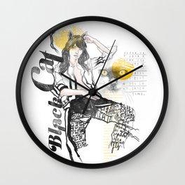 Amber Mistery Wall Clock