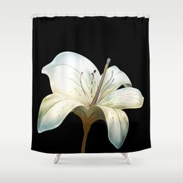 Casablanca Lily Shower Curtain