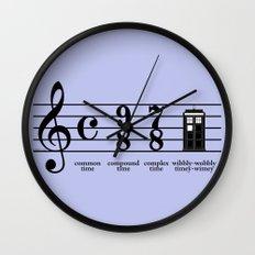 Wibbly-wobbly timey-wimey Wall Clock