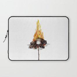 Campfire, Smore, Marshmallow Roasting, Camping Laptop Sleeve