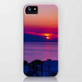 Oia  sunset iPhone Case
