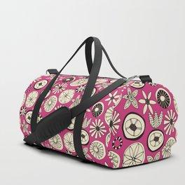 summer flowers pink Duffle Bag