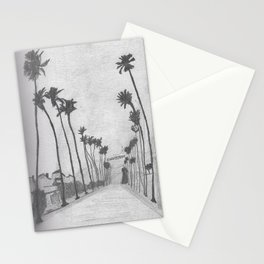 Hollywood Palms Stationery Cards