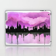 Aubergine London Skyline 2 Laptop & iPad Skin
