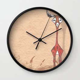 Good Looking Gerenuk Wall Clock