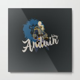 PEOPLE of AZEROTH: Anduin Metal Print