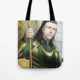 Thor 2 - Loki Print Tote Bag