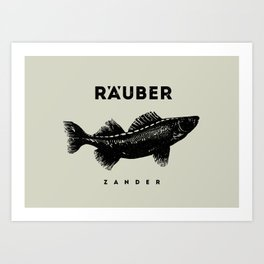 Zander Art Print