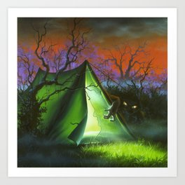 Welcome to Camp Nightmare Art Print