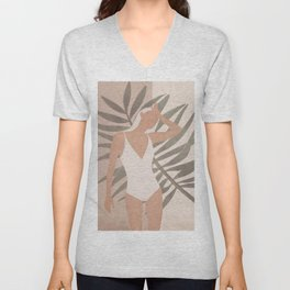 Summer Day Unisex V-Neck