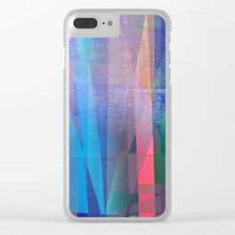 sincere Clear iPhone Case