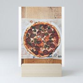 Pizza Slices (63) Mini Art Print